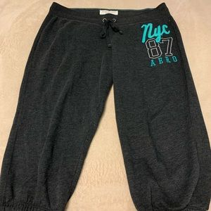 Aeropostale Grey Sweat pants